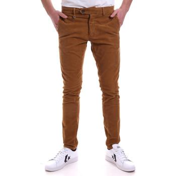vaatteet Miehet Chino-housut / Porkkanahousut Antony Morato MMTR00572 FA310002 Ruskea