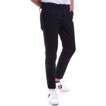 vaatteet Miehet Chino-housut / Porkkanahousut Antony Morato MMTR00591 FA850248 Sininen