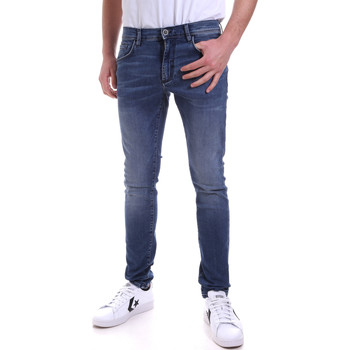 vaatteet Miehet Skinny-farkut Antony Morato MMDT00234 FA750251 Sininen