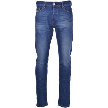 vaatteet Miehet Slim-farkut Diesel 00SID8 009EL Sininen