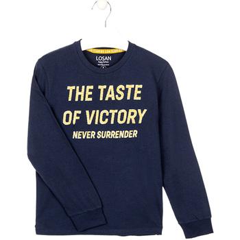 vaatteet Pojat Svetari Losan 023-1007AL Sininen