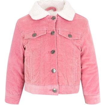 vaatteet Lapset Farkkutakki Losan 026-2006AL Vaaleanpunainen