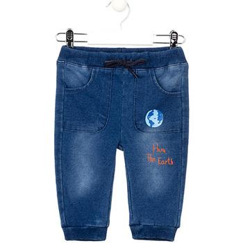 vaatteet Tytöt Slim-farkut Losan 027-6017AL Sininen