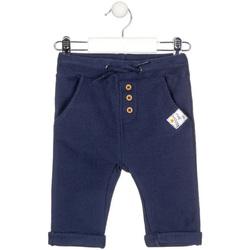 vaatteet Lapset Chino-housut / Porkkanahousut Losan 027-6020AL Sininen
