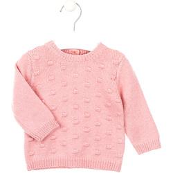 vaatteet Lapset Neulepusero Losan 028-5003AL Vaaleanpunainen