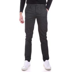 vaatteet Miehet Chino-housut / Porkkanahousut Sseinse PSI638SS Harmaa