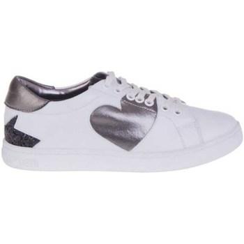 kengät Naiset Matalavartiset tennarit Fornarina PI18AN1059VA06 Valkoinen