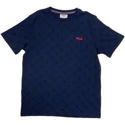vaatteet Pojat Lyhythihainen t-paita Fila 688084 Sininen
