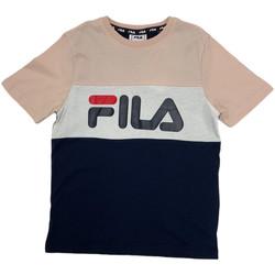 vaatteet Lapset Lyhythihainen t-paita Fila 688141 Vaaleanpunainen