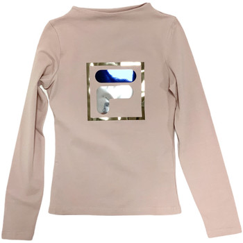 vaatteet Lapset T-paidat pitkillä hihoilla Fila 688102 Beige