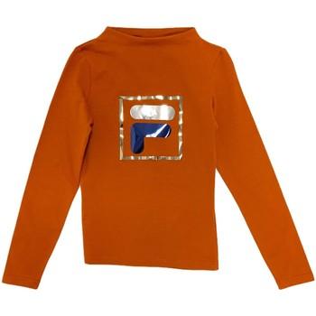 vaatteet Lapset T-paidat pitkillä hihoilla Fila 688102 Oranssi