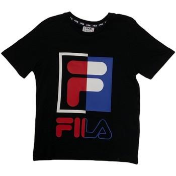 vaatteet Lapset Lyhythihainen t-paita Fila 688149 Sininen