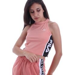 vaatteet Naiset Topit / Puserot Fila 687694 Vaaleanpunainen