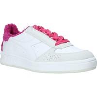 kengät Naiset Matalavartiset tennarit Diadora 201171886 Valkoinen