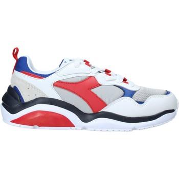 kengät Miehet Matalavartiset tennarit Diadora 501174340 Valkoinen