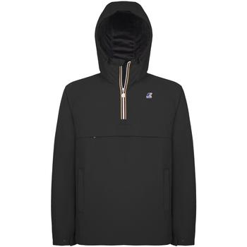 vaatteet Miehet Tuulitakit K-Way K0095B0 Musta