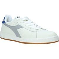 kengät Miehet Matalavartiset tennarit Diadora 501172526 Valkoinen