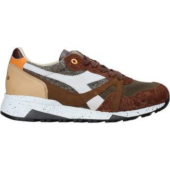 kengät Miehet Matalavartiset tennarit Diadora 201175142 Ruskea