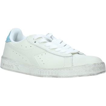 kengät Miehet Matalavartiset tennarit Diadora 501160821 Valkoinen