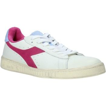 kengät Naiset Matalavartiset tennarit Diadora 501176026 Valkoinen