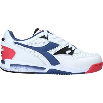 kengät Miehet Matalavartiset tennarit Diadora 501173079 Valkoinen