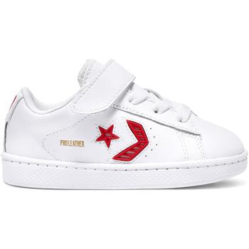 kengät Lapset Matalavartiset tennarit Converse 768406C Valkoinen