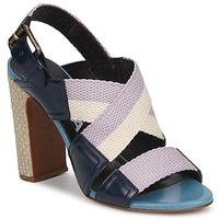 kengät Naiset Sandaalit ja avokkaat Rochas NASTR Black / Violet / Ecru