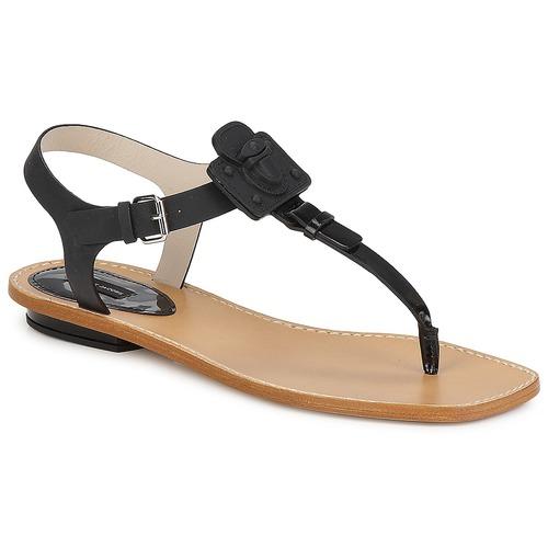 kengät Naiset Sandaalit ja avokkaat Marc Jacobs CHIC CALF Black