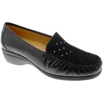 kengät Naiset Mokkasiinit Calzaturificio Loren LOK4020ne nero