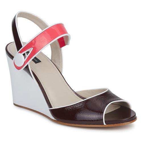 kengät Naiset Sandaalit ja avokkaat Marc Jacobs VOGUE GOAT Bordeaux   Pink fcb99e8750