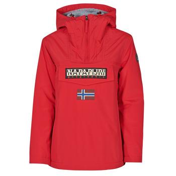 vaatteet Naiset Parkatakki Napapijri RAINFOREST WINTER Punainen