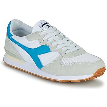 kengät Naiset Matalavartiset tennarit Diadora CAMARO Sininen / Valkoinen