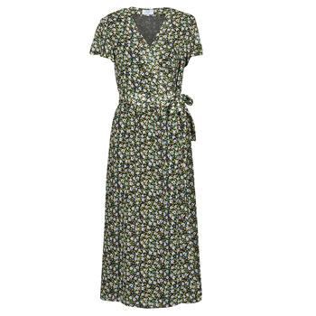 vaatteet Naiset Pitkä mekko Betty London OMADAM Musta / Monivärinen