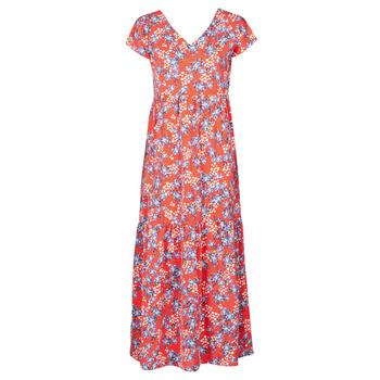 vaatteet Naiset Pitkä mekko Betty London ODE Punainen / Monivärinen
