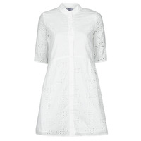 vaatteet Naiset Lyhyt mekko Betty London ODA Valkoinen