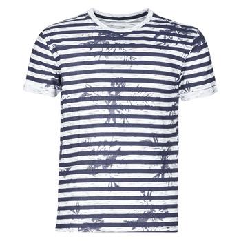 vaatteet Miehet Lyhythihainen t-paita Yurban OLORD Laivastonsininen / Valkoinen