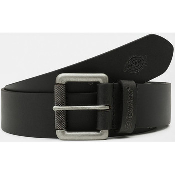 Asusteet / tarvikkeet Miehet Vyöt Dickies South shore leather belt Musta
