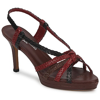 kengät Naiset Sandaalit ja avokkaat Stéphane Kelian PRISCILLE Brown / Red