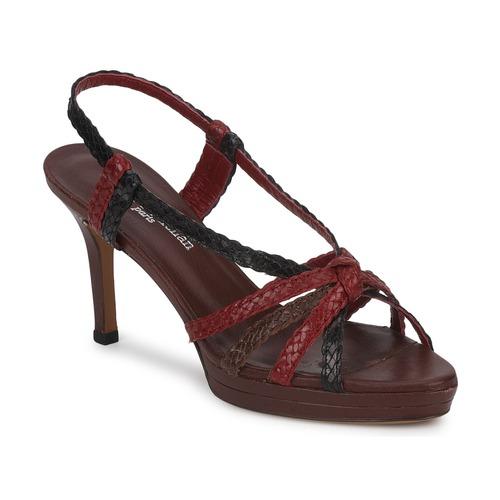 kengät Naiset Sandaalit ja avokkaat Stéphane Kelian PRISCILLE Brown / Bordeaux