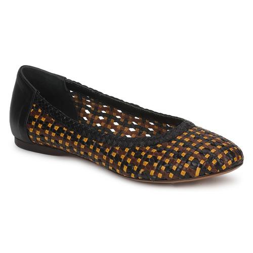 kengät Naiset Balleriinat Stéphane Kelian WHITNEY Brown / Black