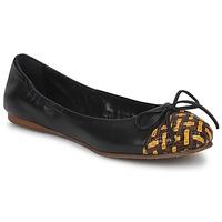 kengät Naiset Balleriinat Stéphane Kelian WALLY Black / Yellow