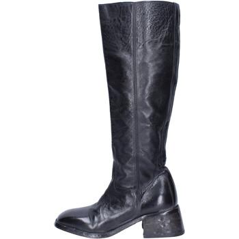 kengät Naiset Saappaat Moma Saappaat BJ236 Musta