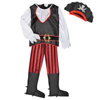vaatteet Pojat Naamiaisasut Fun Costumes COSTUME ENFANT PIRATE TOM Monivärinen