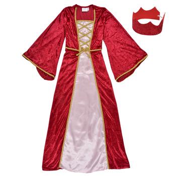 vaatteet Tytöt Naamiaisasut Fun Costumes COSTUME ENFANT REINE DE LA RENAISSANCE Monivärinen