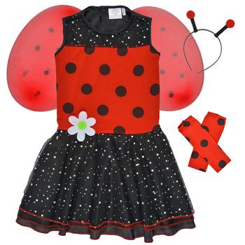 vaatteet Tytöt Naamiaisasut Fun Costumes COSTUME ENFANT BIRDIE BEETLE Monivärinen