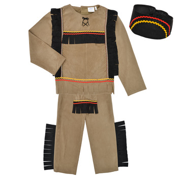 vaatteet Pojat Naamiaisasut Fun Costumes COSTUME ENFANT INDIEN BIG BEAR Monivärinen