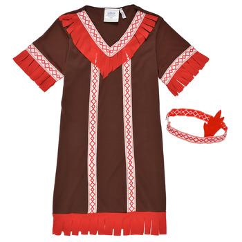 vaatteet Tytöt Naamiaisasut Fun Costumes COSTUME ENFANT INDIENNE FOX KITTEN Monivärinen