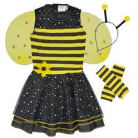 vaatteet Tytöt Naamiaisasut Fun Costumes COSTUME ENFANT BEE BEE Monivärinen