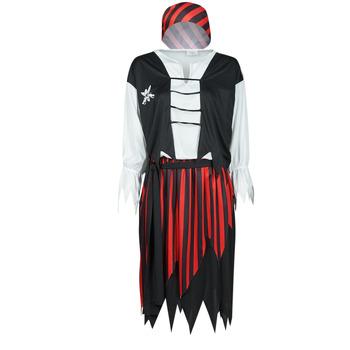 vaatteet Naiset Naamiaisasut Fun Costumes COSTUME ADULTE PIRATE SUZY Monivärinen