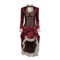 vaatteet Naiset Naamiaisasut Fun Costumes COSTUME ADULTE LADY STEAMPUNK Monivärinen